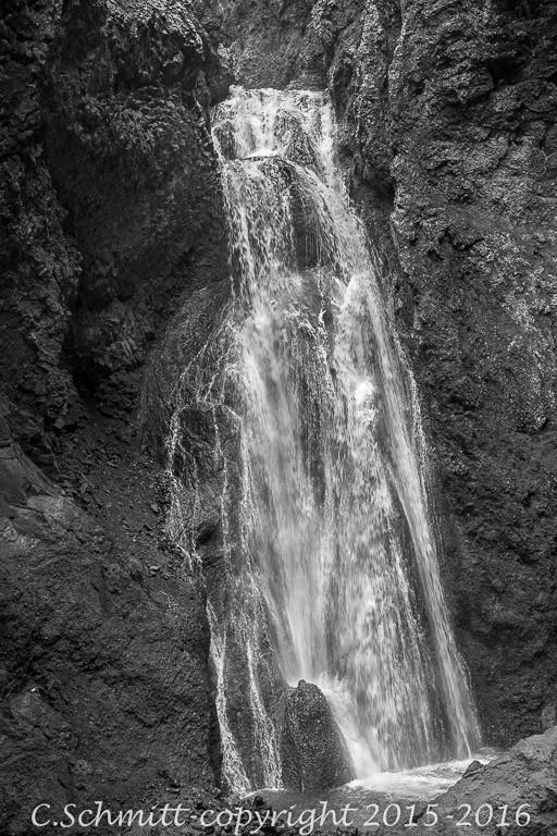cascade de Drekagill près de l'Askja
